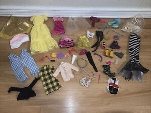 Doll Clothes MIXED LOT SHOES ACCESSORIES Barbie?