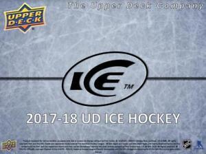 2017-18 Upper Deck Ice Sub Zero Ice Hockey Card (Regular or Gold) Pick From List