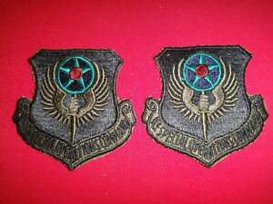 Set Of 2 US Air Force SPECIAL OPERATIONS COMMAND Patches