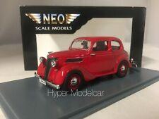 NEO SCALE MODELS 1/43 Ford Eifel 1938 Red Art.NEO44545