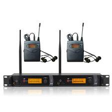 SR 2050 IEM Wireless in ear Monitor System / Professional 2 channels Transmitter