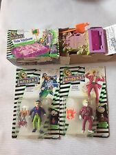 Vintage Beetle Juice Figure Lot Card