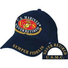 U.S. Marines Never Retired Hat Semper Fidelis USMC
