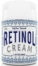 Retinol Cream Moisturizer For Face And Eyes, Use Day And Night - For Anti Acne,