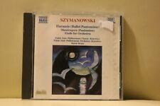 Szymanowski Hanasie Mandragora Etude CD Naxos Album 1st Class FAST & FREE