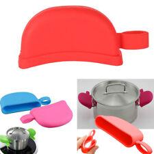 Anti-skid satz Pan Grip Silikon Topf Topf Griff Abdeckung Küche Werkzeug