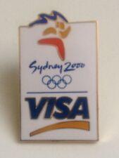 OLYMPIC PIN´S - SIDNEY 2000 - VISA - OLIMPIC GAMES - JUEGOS OLIMPICOS (E651)