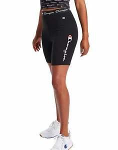 Champion Women's Everyday Bike Shorts, Multi-color Logo