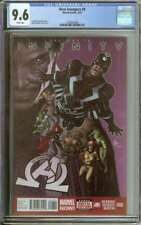 NEW AVENGERS #8 CGC 9.6 WHITE PAGES