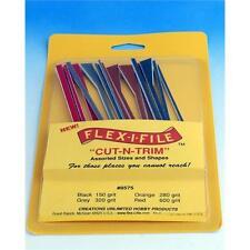 Flex-i-File Cut-n-Trim 8575 - 16 Assorted Flexable Abrasive Sticks