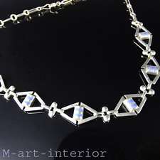 Jugendstil Silber Emaille Collier Franz Boeres Fahrner Style Necklace 1904-1905