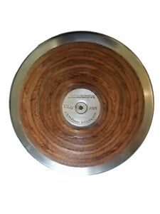 Discus New 1.6 Kilogram High School Wood Official Weight Track & Field Free SHIP