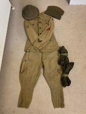 Original US Army World War 1 Doughboy Uniform, 80th Infantry Div., Kelly Helmet