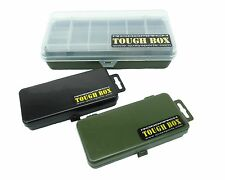 3 X FISHING TACKLE BOX SET FOR PLUGS, LURES, SPINNERS HOOKS, BEADS FLIES ETC.