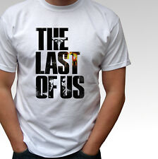 The Last Of Us white t shirt game top design - mens and kids sizes