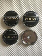 4x Volvo Wheel Centre Cap Hub Alloy New Center Cap 60mm 6Cm Black/Silver
