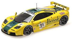 Minichamps 1:18 Mclaren F1 GTR - Harrods Mach One Racing - Wallace/Bell/Bell - 2