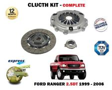 FOR FORD RANGER 2.5TD WL 1999-12/2006 NEW 3 PIECE CLUTCH KIT COMPLETE OE