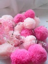 Joblot of 30pcs hairball phone chain New Wholesale