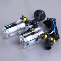 1 Pair Car HID Xenon Headlight Lamp Light For H7 3000K 35W Bulbs Golden Yellow