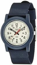 BRAND NEW TIMEX TW2P59900 CAMPER NAVY STRAP IVORY DIAL JAPAN LIMITED MENS WATCH