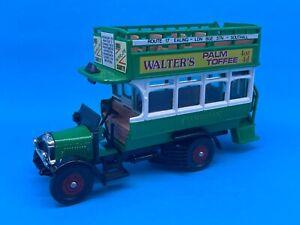 c1980 Corgi Toys Thornycroft Bus Walter's Palm Toffee Diecast Vehicle Car MIB