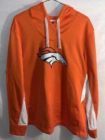 Womens Pullover Hoodie - NFL Team Apparel | Size: 3XL | Denver Broncos Orange