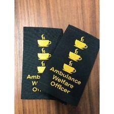 Epaulettes FUNNY Ambulance Welfare Officer 3 rank tea cup Slides Sliders GIFT