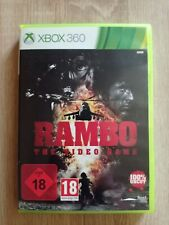 XBOX 360 RAMBO - THE VIDEO GAME - 100% UNCUT - USK AB 18!