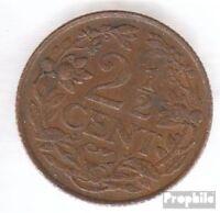 Curacao KM-Nr. : 42 1947 sehr schön Bronze 1947 2 Cents Löwe
