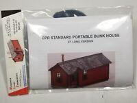 HO Monashee Laser Engineering Canadian Pacific Railway CPR Portable Bunk House
