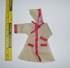 Preowned Vintage Fashion Doll Raincoat Fits 11 And 1/2 Inch Dolls Good Condition