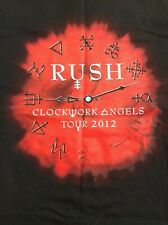 Rush Clockwork Angels Tour 2012 Xl Shirt Awesome Cool