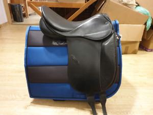 Stubben Excalibur riding saddle  17.5-18 /31