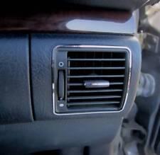 D Audi A8 D2 Chrom Rahmen für Lüftungsschacht außen unten - Edelstahl poliert