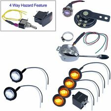 Lever column switch LED turn signal kit for SXS side by side UTV with horn