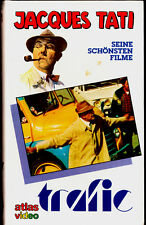 VHS -- TRAFIC - Jacques Tati im Stoßverkehr -- (1971) - ATLAS Video