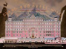 The Grand Budapest Hotel 2014 Movie Poster Print A0-A1-A2-A3-A4-A5-A6-MAXI 949