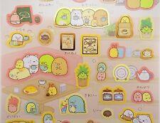 Sumikko Gurashi kawaii cafe stickers! Japanese San-X stickers, cute coffee beans