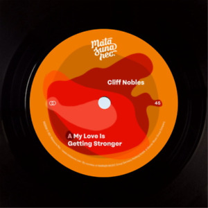 Cliff nobles, russel-my love is getting stronger the bold vinyl new