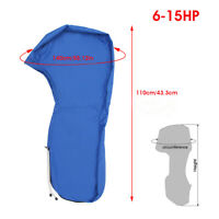1x Boat Full Outboard Engine Cover Motor 6-15hp Waterproof For Storage Protector