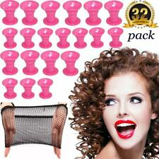 Hair Curlers Rollers Silicon Hair Style Rollers Soft Magic Diy Hair Style Tools