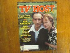 Apr-1989 Pa. TV Host Mag(RENEE SOUTENDIJK/GUSTAV VINTAS/PHOEBE SNOW/BEN KINGSLEY