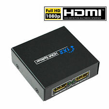 Best For HD TV PS3 HDMI Splitter 1 Input 2 Output Amplifier Switch Box Hub 1x2