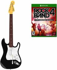 Rock Band 4 Wireless Guitar Bundle for Xbox One Game The Most Music Available