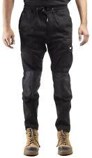 Caterpillar CAT Dynamic black 270g cotton/spandex stretch slim-fit work trouser