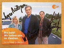 Teamkarte AK Der Kommissar und das Meer Autogrammkarte original signiert