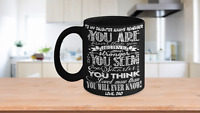 Daughter Mug Gift Love Dad Braver Stronger Coffee Cup Present From Father