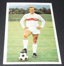PETERS VFB STUTTGART FUSSBALL 1966 1967 FOOTBALL CARD BUNDESLIGA PANINI