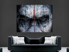 PLANET OF THE APES  DAWN ART HUGE IMAGE  LARGE WALL POSTER PICTURE